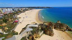 Praia da Rocha, 3 Castelos, Careanos, Vau, Praia do Alemão flight - Portimão - Algarve - 4K Ultra HD - YouTube