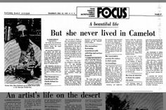 Article about Mary G. Smith Heinrichs