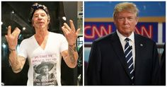 Mickey Rourke Goes On Vulgar Tirade, Shares His Feelings About Donald Trump