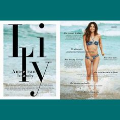 What's better than one Lily Aldridge photo shoots? Oh yeah. TWO Lily Aldridge photo shoots.