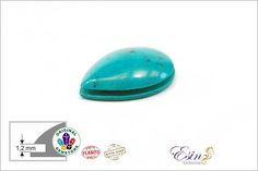 Hey, I found this really awesome Etsy listing at https://www.etsy.com/listing/568553657/turquoise-drop-grooved-cabochon-for