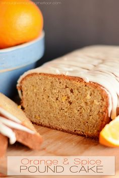 Orange and Spice Pound Cake   Infused with tea and butter...and deliciousness!   The perfect holiday treat of breakfast.