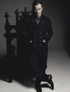 El actor Jude Law protagoniza una de las dos portadas de la edición de Septiembre de L'Uomo Vogue