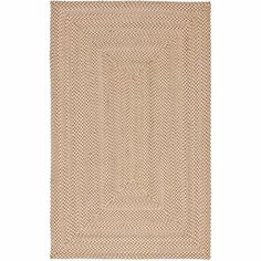 Safavieh Braided Coleman Cotton Area Rug or Runner, Beige Casual Decor, Braided Rugs, Throw Rugs, Beige Area Rugs, Rug Size, Hand Weaving, Braids, Foyer, Living Room