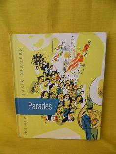 New Basic Readers Parades 1956, VG, Curriculum Foudations, Homeschool / School