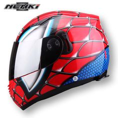 1fba7c20c0 and the double riding motorcycle helmet four lens equipment Iron Man!