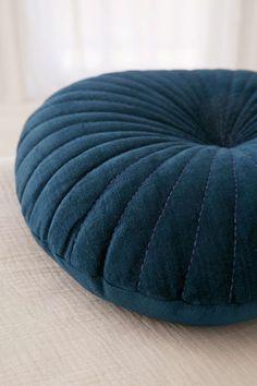 Shelly Round Velvet Cushion - Urban Outfitters, £30, 45cm diameter