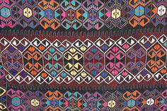 VINTAGE Turkish Kilim Rug Carpet, Handwoven Kilim Rug, Antique Kilim Rug ,Decorative Kilim - 61 X 120,5 (155 X 306 CM)