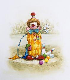 child clown