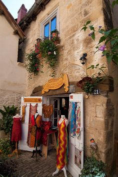 Boutique in Sarlat, France