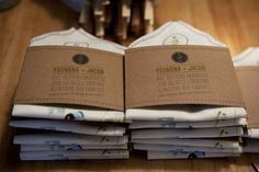 DIY Invites from a Crafty Bride to Be #savethedatecards #weddinginvitations trendhunter.com