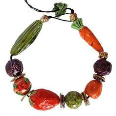 bożena wislicka- ceramic necklace