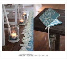 Tidbits on Weddings by Destination Planner & Designer Kelly McWilliams: A sea glass inspired wedding {photographed by Audrey Snow}