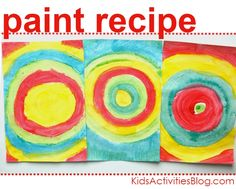 egg tempera paint recipe - so much fun