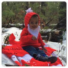 #baby #christmaspicture #santa #knitted