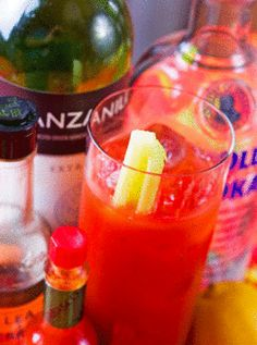 Make-Your-Own Bloody Mary Essentials: Sure to be the biggest hit at your next brunch!