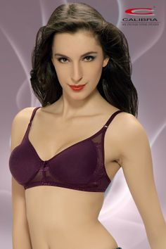 double cloth moulded bra with lycra net.