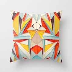 Everything+is+Fine+Throw+Pillow+by+Anai+Greog+-+$20.00