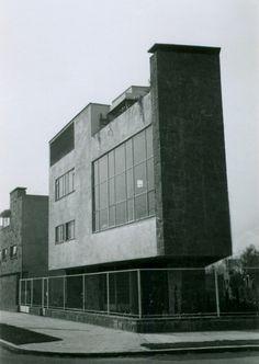 Casa y estudio para Olga y Rufino Tamayo, Anzures, México D.F., 1949 [modificada] - Max Cetto
