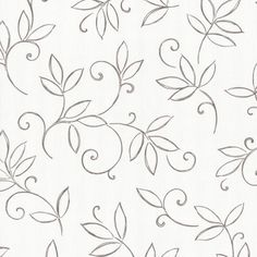 Finesse wallpaper P+S wallpaper flowers cream brown Wallpapers P+S Inte… Border Embroidery Designs, Floral Embroidery Patterns, Hand Embroidery Flowers, Hand Embroidery Stitches, Embroidery Art, Quilting Designs, Cushion Embroidery, Fabric Painting, Wallpaper Wallpapers
