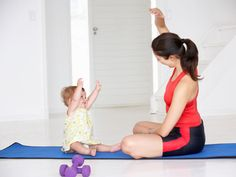 Fitness Tips for Busy Moms- For all your mommies who want to be healthy but can't find time.