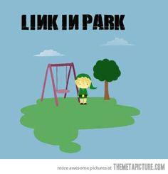 Link in park