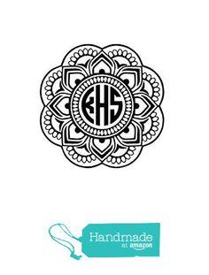 Monogram Mermaid Embroidery Crafts Pinterest More Monograms - Monogram car decal maker