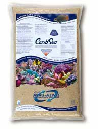 $29.99-$24.00 Carib Sea Arag - Alive Saltwater Fiji Pink 20 lb - Arag-Alive achieves rapid cycling by preparing and seeding the substrate grain surfaces with a wide variety of marine bacteria, most in a spored state, including strains engineered for maximum waste reduction capacity. Some types of bacteria reduce nitrogenous waste by metabolic oxidation while others incorporate nitrogen into bacte ...