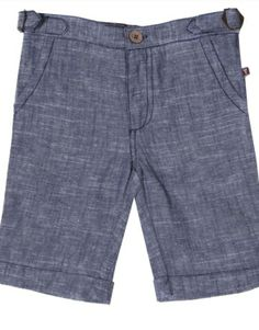 Urban Poppets | FORE! Two Tone Linen Cuff Shorts