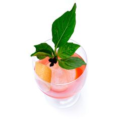 ... grapefruit + lime + muddled strawberry + honey + thai basil #cocktails