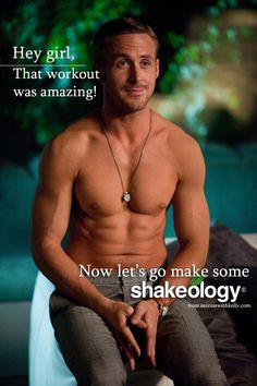 Shakeology more than a protein drink   Ryan Gosling Shakeolgoy
