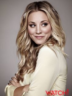 Kaley Cuoco couldn't be more beautiful! The Big Band Theory, Big Bang Theory, Kaylee Cuoco Hair, Blonde Color, Hair Color, Kaley Couco, Blonde Actresses, Hot Blondes, Hairstyles With Bangs