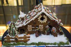 Weihnachtliches Lebkuchenhaus selber machen
