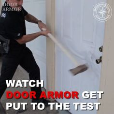Door Armor - Ultimate Door Security Make your door virtually impossible to kick-in! The Door Armor protection system reinforces all of your doors weak points. Protect what matters most, your family at home. Home Security Tips, Home Security Systems, Home Security Products, Adt Security, House Security, Ring Security, Video Security, Security Camera, Home Renovation