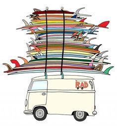Some People Can't Surf: The Graphic Design of Art Chantry Graphisches Design, Logo Design, Graphic Design, Pop Up Shop, Website Design, Surfboard Art, Surf Art, Surf Style, Surfs Up