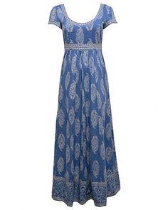 Rambagh Maxi Print Dress