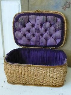 Tufted Sewing Box