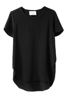 Why is well designed clothing so expensive?! 3.1 Phillip Lim / Overlapped Side Seam Tee