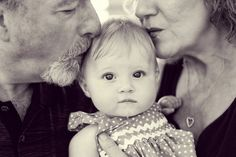 Grandparents and Baby ❤️ Can't wait to get a picture like this! Very lucky my parents are still married & can be grandparents together & be there as a positive influence for our marriage & growing family.