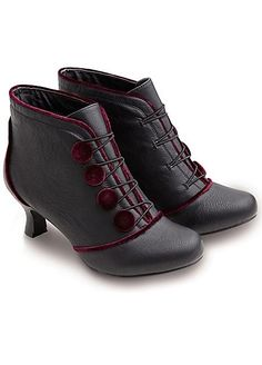 Fit For A Queen Ankle Boots by Joe Browns