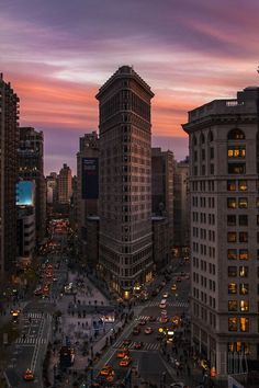 Dusk, New York City photo via horst