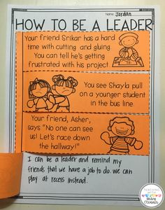 How to Be a Leader Flipbook