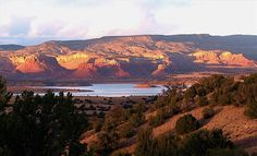 Abiquiu Vacation Rental - VRBO 81865 - 1 BR NM House, Abiquiu Lake Casita--Stunning Views of Red Cliffs and Lake