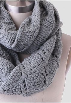 Late Morning Infinity Scarf from Ruche