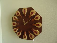 Piano Hammer Clock by ThePianoGalShop on Etsy, $25.00  Upcycled Piano by The Piano Gal Shop http://thepianogalshop.com
