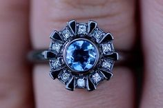 Arc Reactor Inspired Engagement Ring