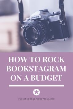 How to Rock Bookstagram on a Budget – Pages Unbound Vlog Tips, Bookshelf Inspiration, Book Instagram, Instagram Posts, Book Lovers Gifts, Book Photography, Cool Pictures, Budgeting, Life Hacks