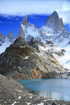 Los Glaciares National Park, Argentina - UNESCO World Heritage site.
