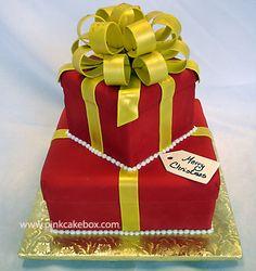 Christmas Cocktail Cake