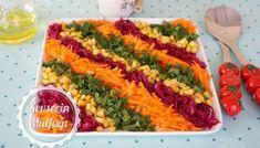 Lahana Turşusu Tarifi   Kevserin Mutfağı - Yemek Tarifleri Pasta Salad, Cobb Salad, Food Carving, Catering, Cooking, Ethnic Recipes, Islam, Savoury Dishes, Tailgate Desserts